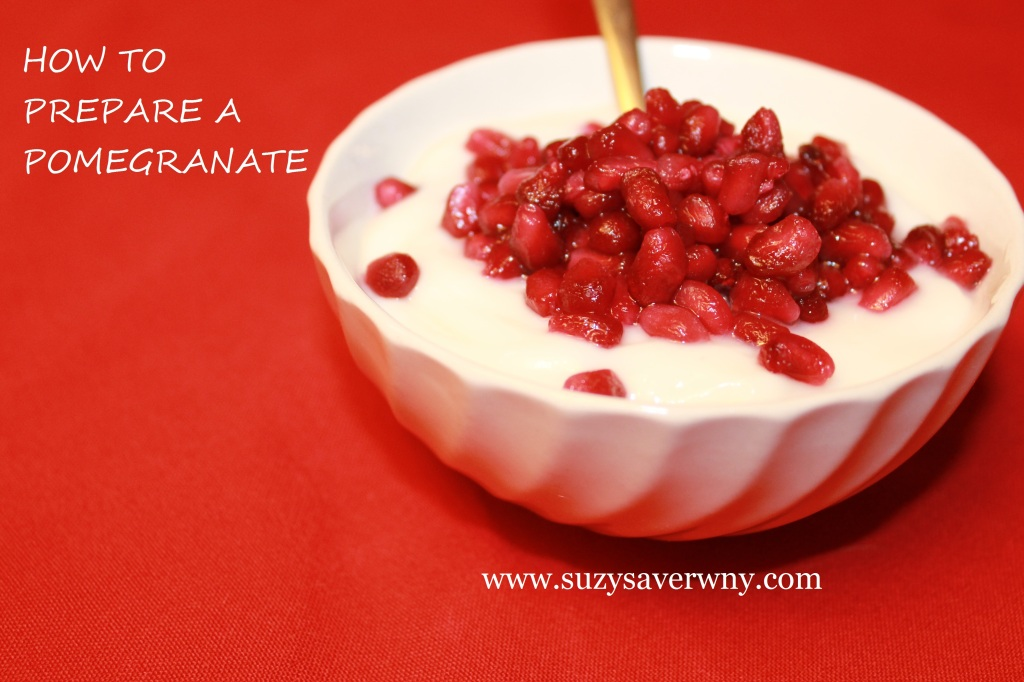How to Prepare a Pomegranate