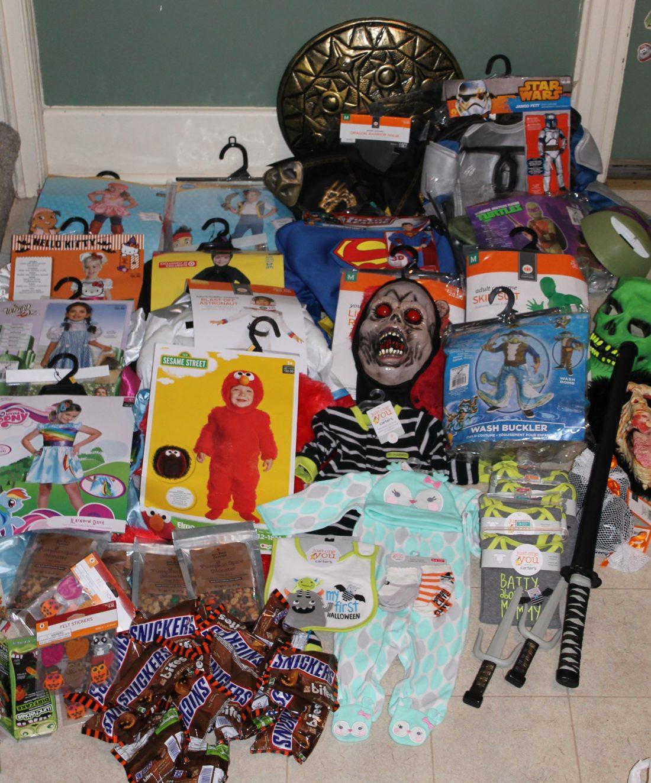 Target Halloween clearance 2014