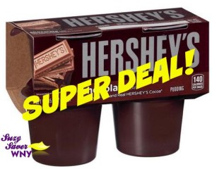 Hershey's Ready to Eat Pudding Tops Markets