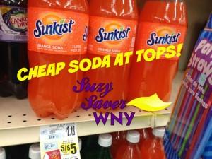 Sunkist 2 liter Tops Markets Sale 9.2015 CHEAP