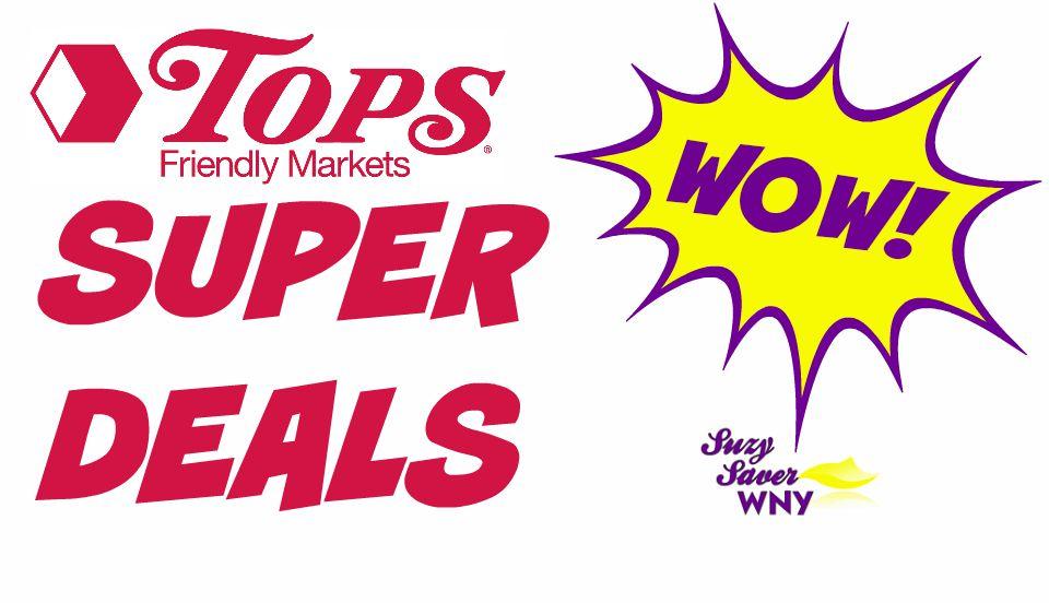 Tops Markets Super Deals Suzy Saver WNY