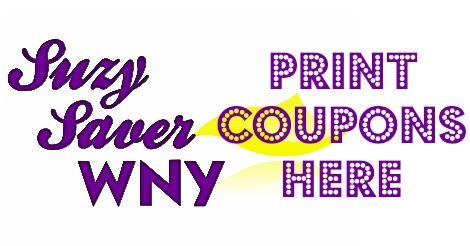 Suzy Saver WNY PRINT COUPONS HERE