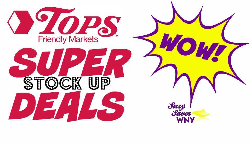 Tops Markets Super STOCK UP Deals Suzy Saver WNY