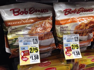 Bob Evans Side Dishes Tops Markets
