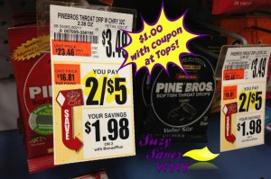 Pine Bros Throat Drops Tops Markets Deal Suzy Saver WNY 2