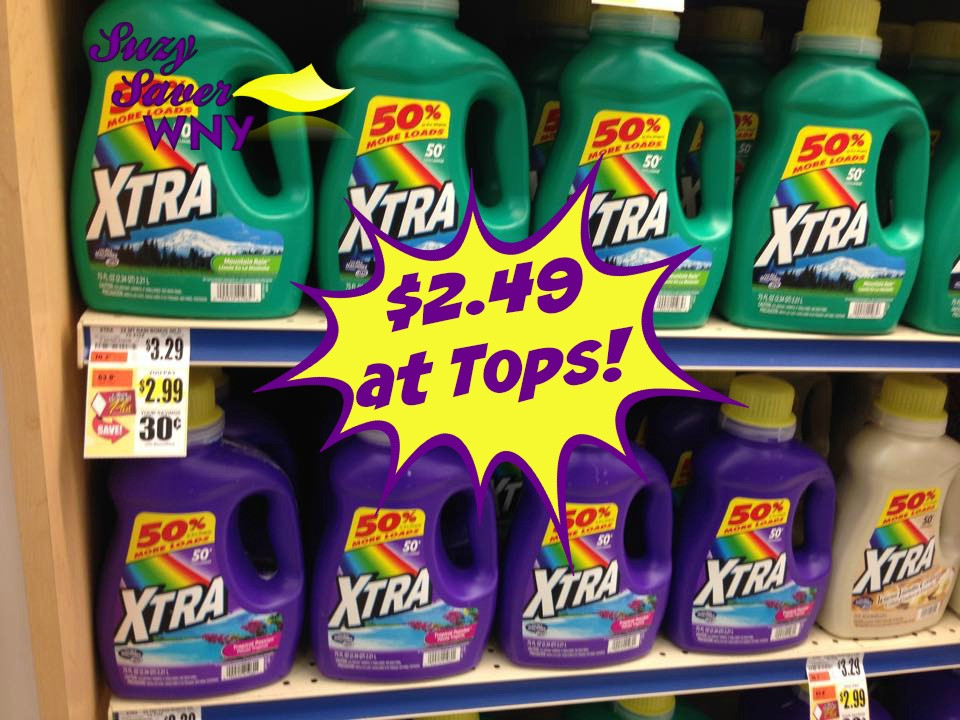Xtra Laundry Detergent Tops Markets Deal 11.8.15