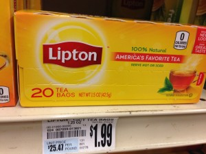 lipton tea bags 20 ct tops markets