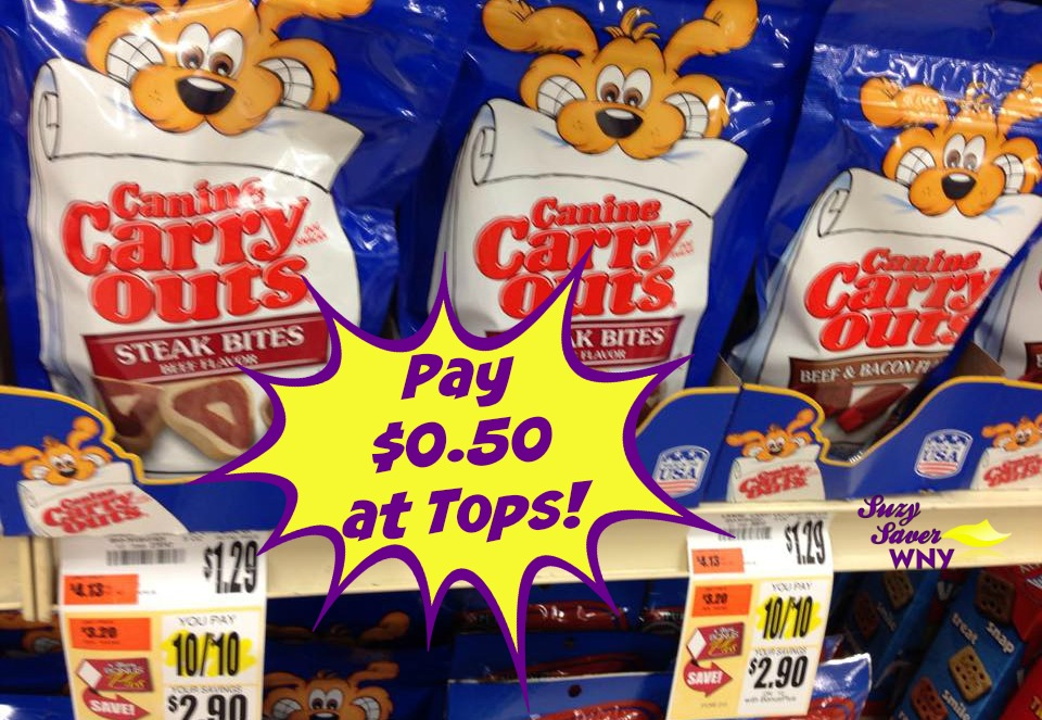 Canine Carryouts Dog Treats Tops Markets DEAL