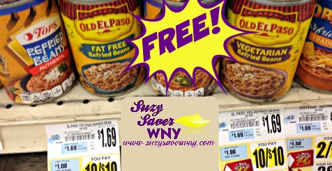 Old El Paso Refried Beans Tops Markets FREE Saver WNY 2016