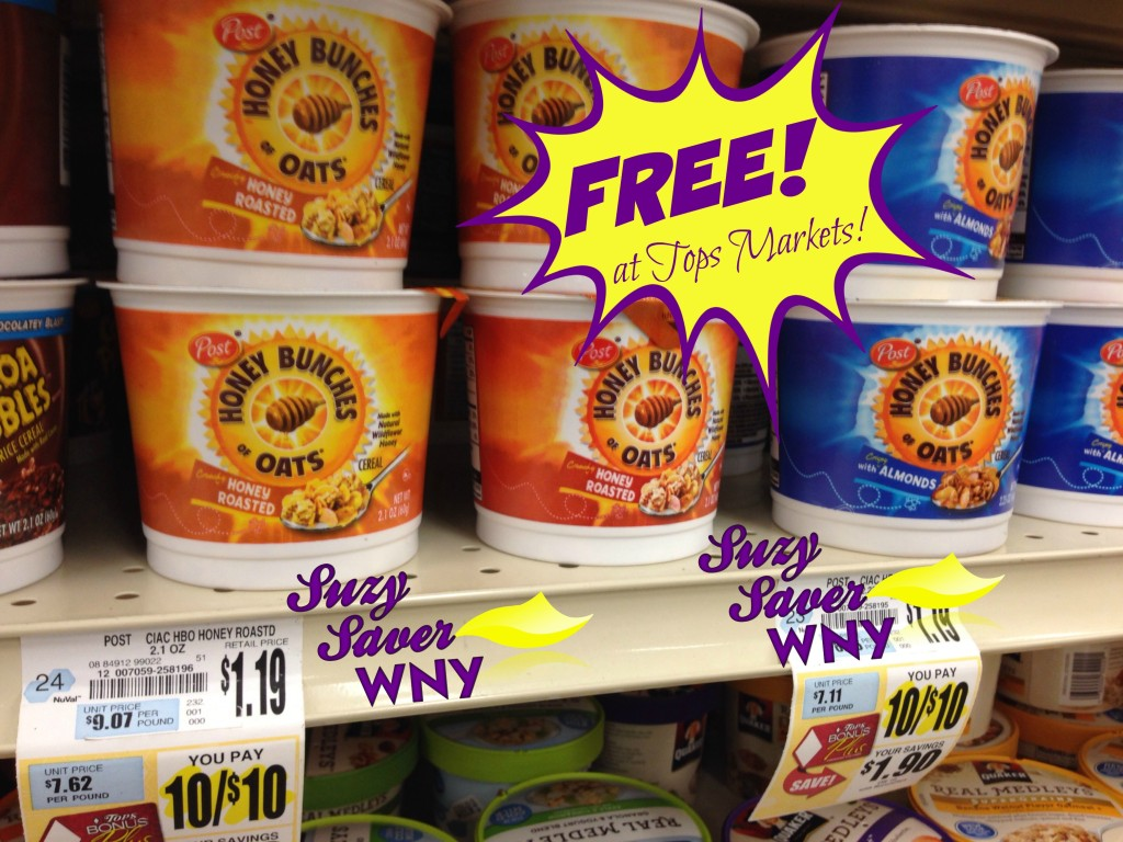 A Full Cup Tops Grocery : Tops markets unadvertised deals week of