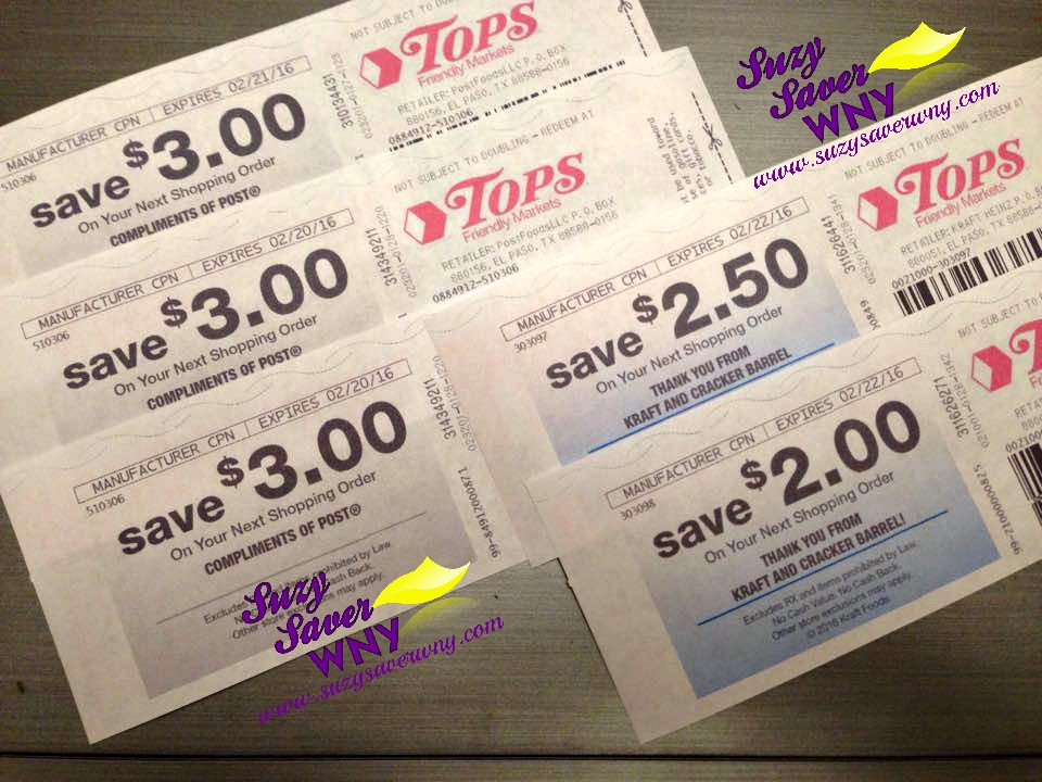 Catalina Coupons Frugal Tips Suzy Saver WNY