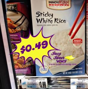 InnovASIAN Sticky White Rice Tops Markets Deal $0.49 February Suzy Saver WNY