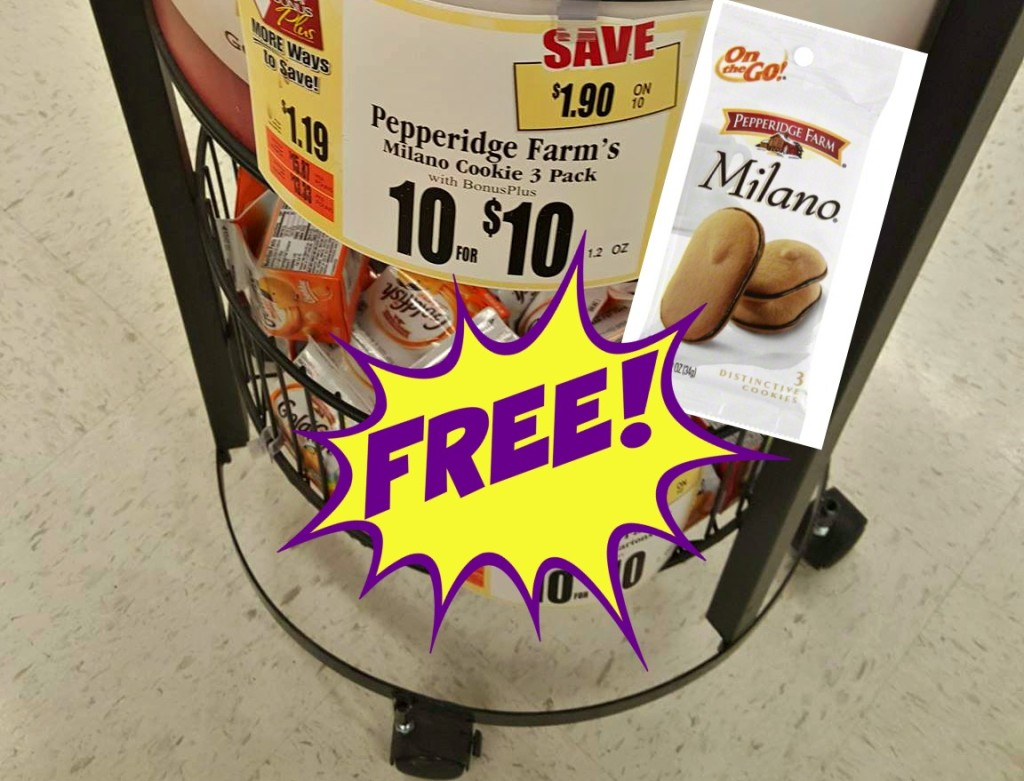 Pepperidge Farm Milano Cookie 3 pack Tops Markets Deal FREE Suzy Saver WNY