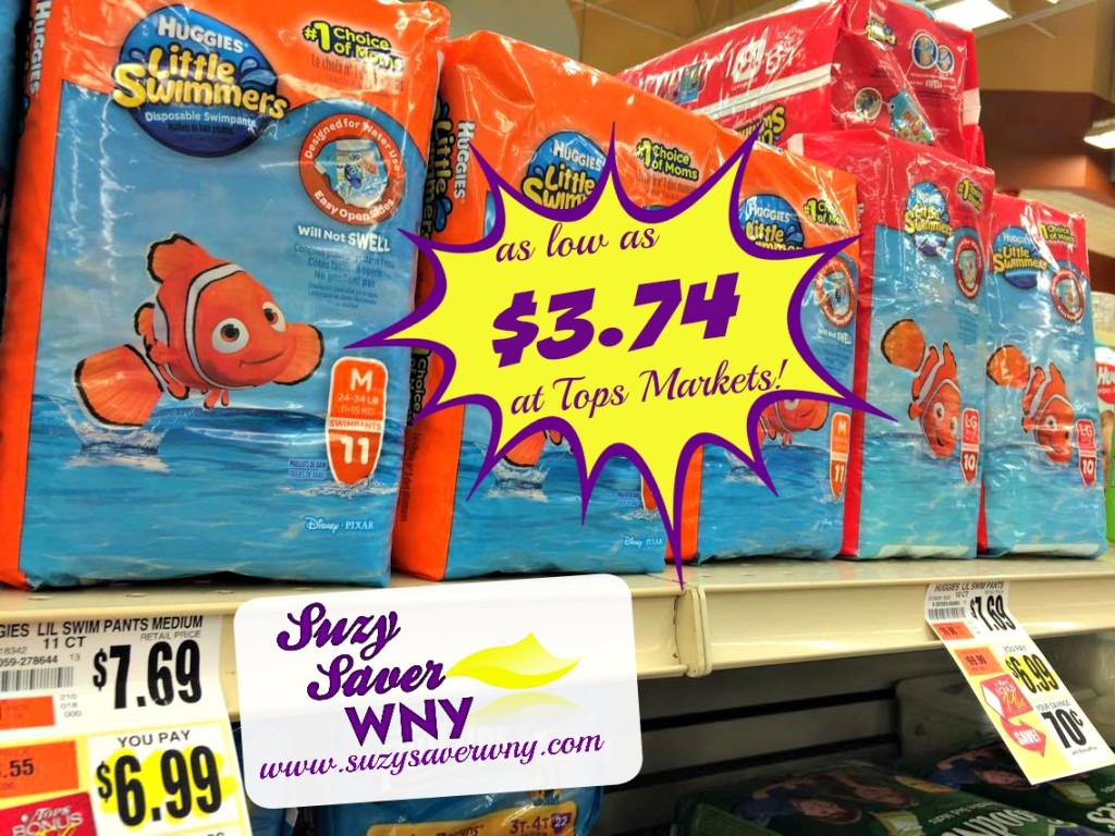 Huggies Little Swimmers Diapers Tops Markets Deal Catalina $3.74 Suzy Saver WNY