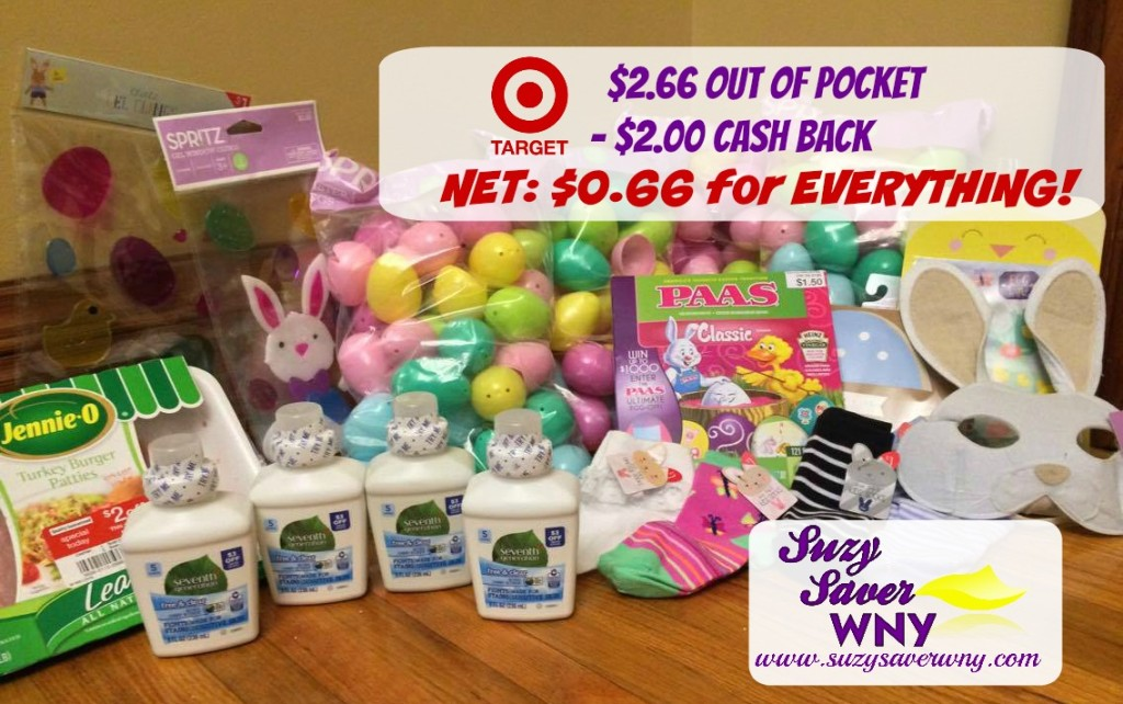 Target Shopping Trip Easter Clearance Seventh Generation Laundry Suzy Saver WNY April 2016