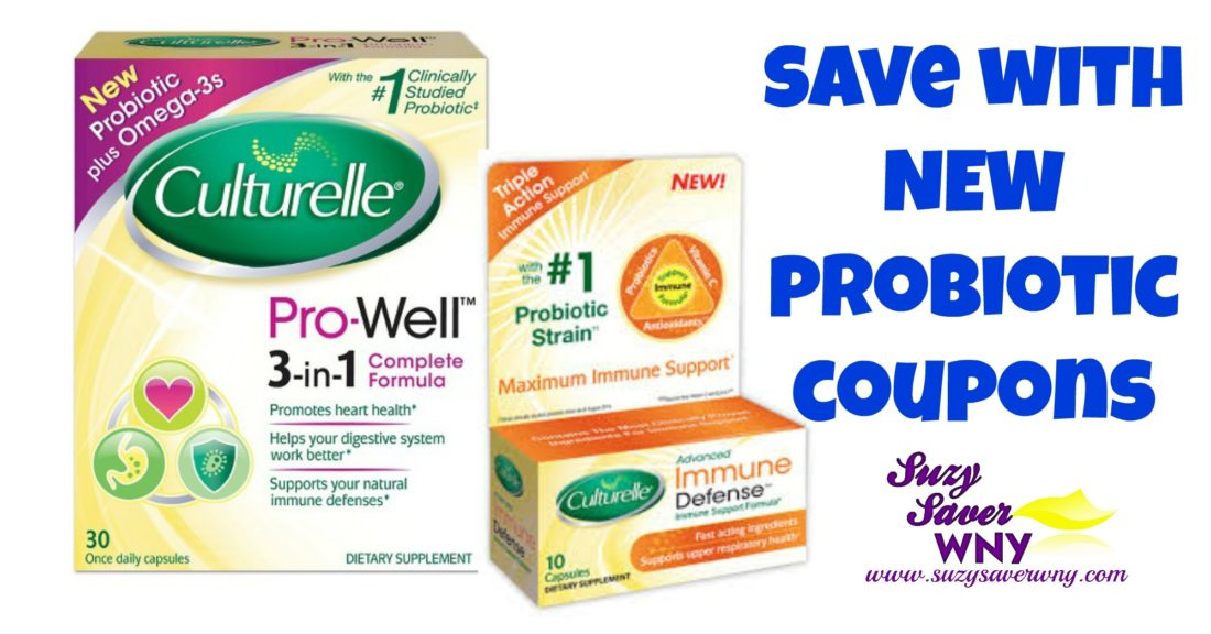 Probiotic coupons