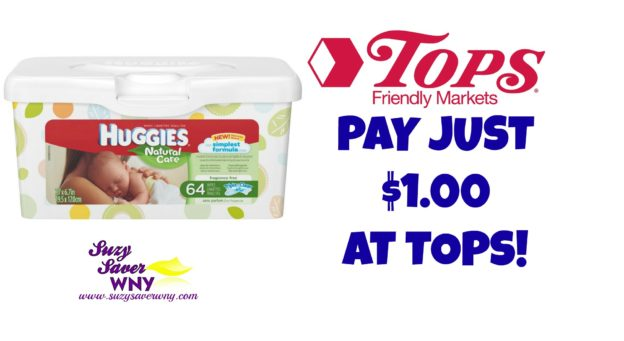 Huggies Baby Wipes Tops Markets Deal $1.00 Suzy Saver WNY