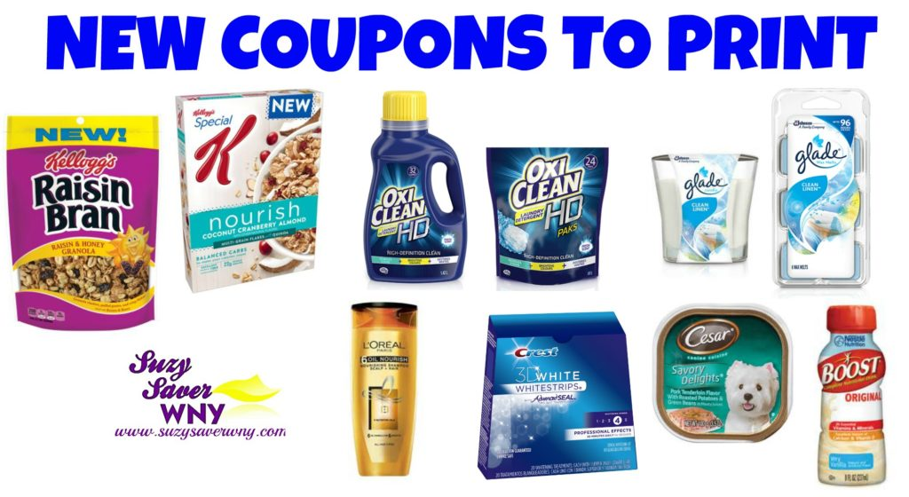 photo about Crest Printable Coupons referred to as Fresh new Printable Discount coupons: Kelloggs, Oxi Fresh new, Glade, Gillette