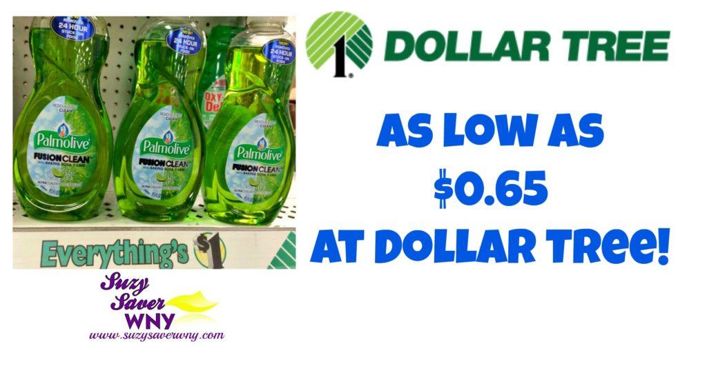 Palmolive Dish Soap Dollar Tree Deal $0.65 Suzy Saver WNY