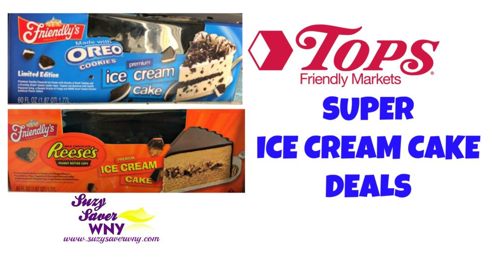 picture regarding Friendly's Ice Cream Coupons Printable Grocery called Tops Marketplaces: Friendlys Ice Product Cake particularly $11.99 (reg