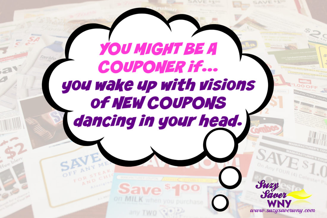 You Might Be a Couponer New Coupons MEME Suzy Saver WNY Large