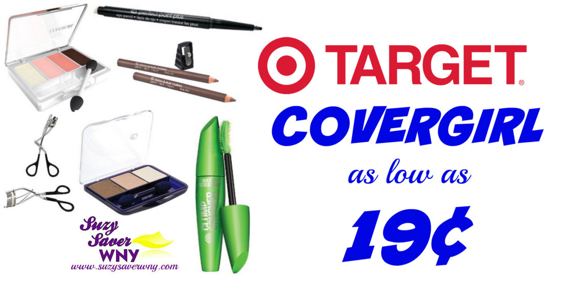 Covergirl Eye Makeup Products Target Deals as low as $0.19 Deal Suzy Saver WNY