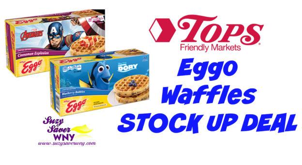 Eggo Waffles STOCK UP DEAL Tops Markets Week of 8.28.16 Suzy Saver WNY