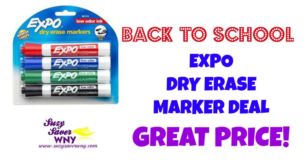 Expo Dry Erase Markers Amazon Deal Suzy Saver WNY