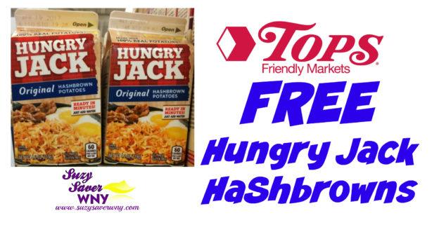 Hungry Jack Hashbrown Potatoes FREE Tops Markets Deal Suzy Saver WNY