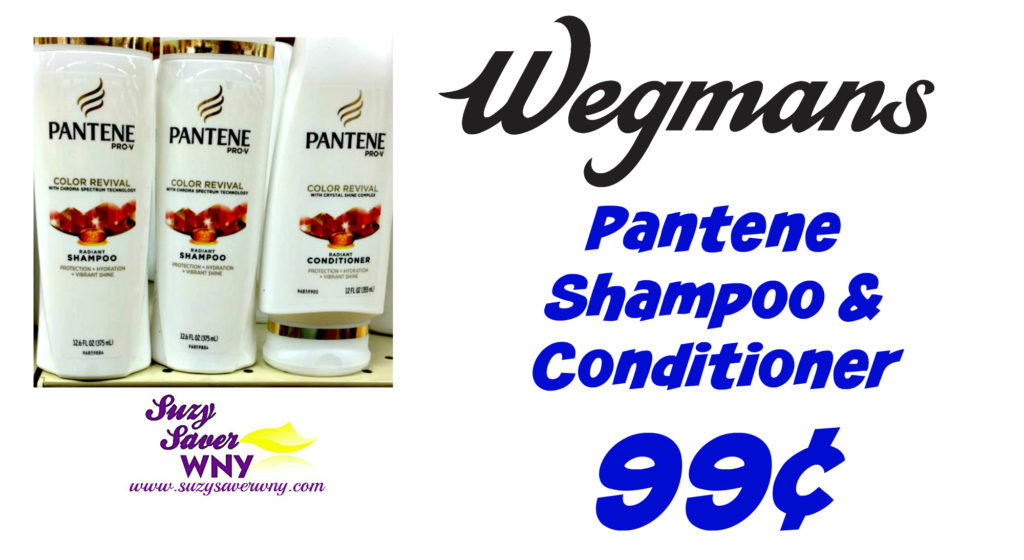 image relating to Wegmans Printable Coupon named Wegmans: $0.99 Pantene Shampoo Conditioner *Tremendous Package deal* -