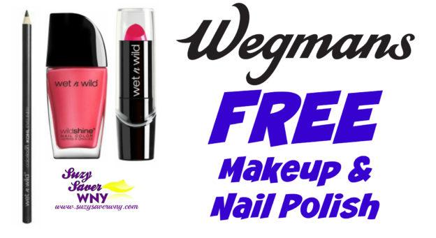 Wet n Wild Makeup Wegmans Deal FREE printable coupon Suzy Saver WNY