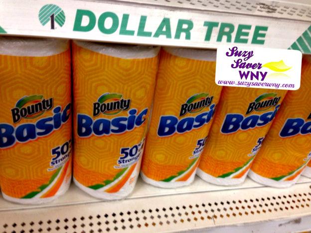 bounty-paper-towels-dollar-tree-suzy-saver-wny