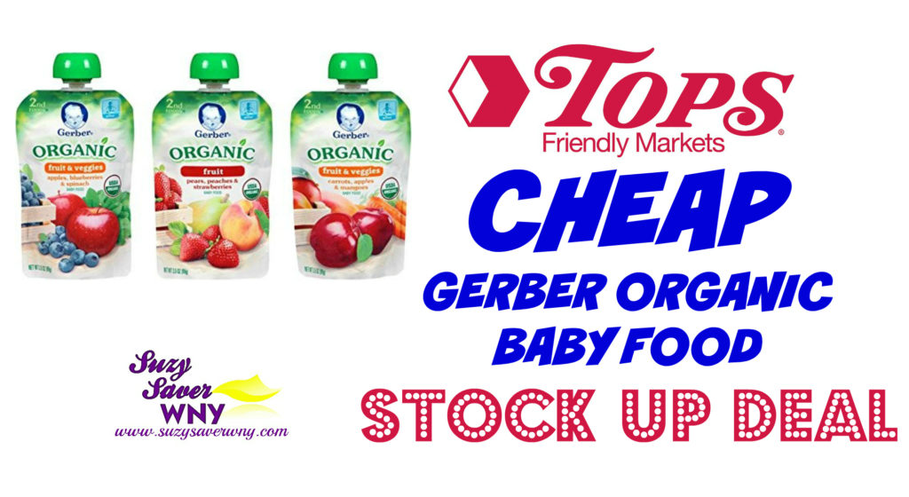 graphic about Gerber Printable Coupons identified as Tops Marketplaces: *Incredibly hot Bundle* $0.25 Gerber Natural Youngster Meals -