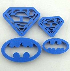 Super Hero Cookie Cutters