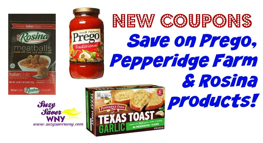 image relating to Prego Printable Coupons identify Fresh new Discount codes: Preserve upon Rosina, Prego, Pepperidge Farm merchandise -