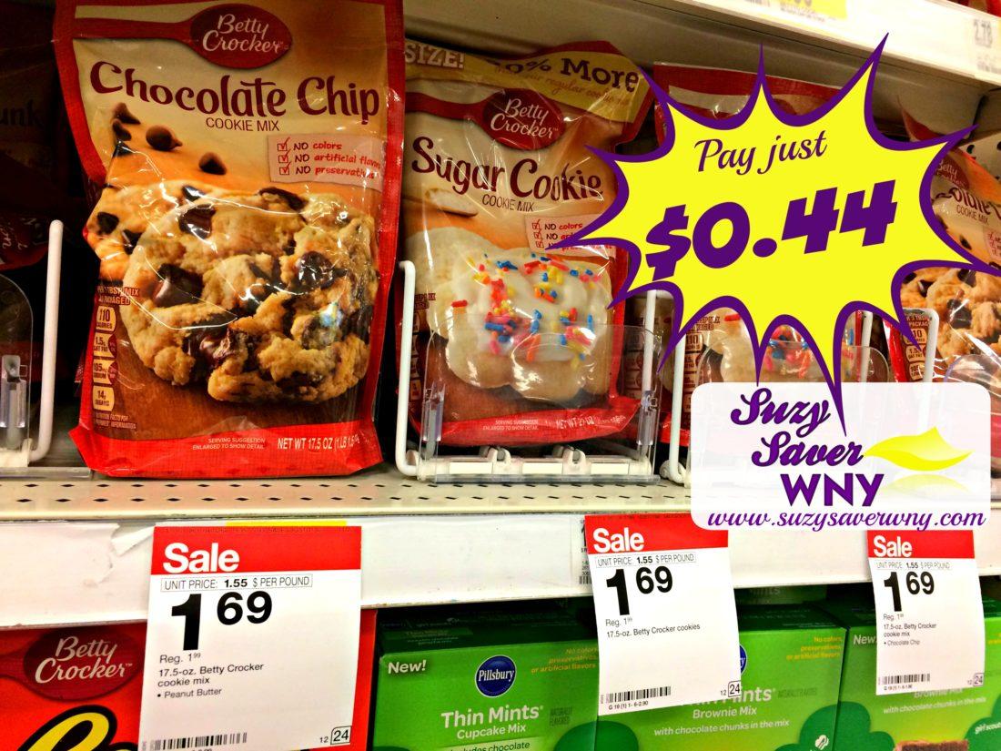 Betty Crocker Cookie Mix Target Printable Coupon Cartwheel Deal Suzy