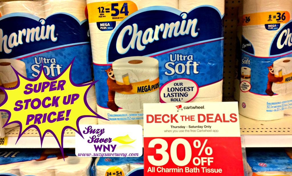 photo about Charmin Printable Coupon called Concentration: *Inventory UP Package deal* Charmin Rest room Paper Coupon STACK -