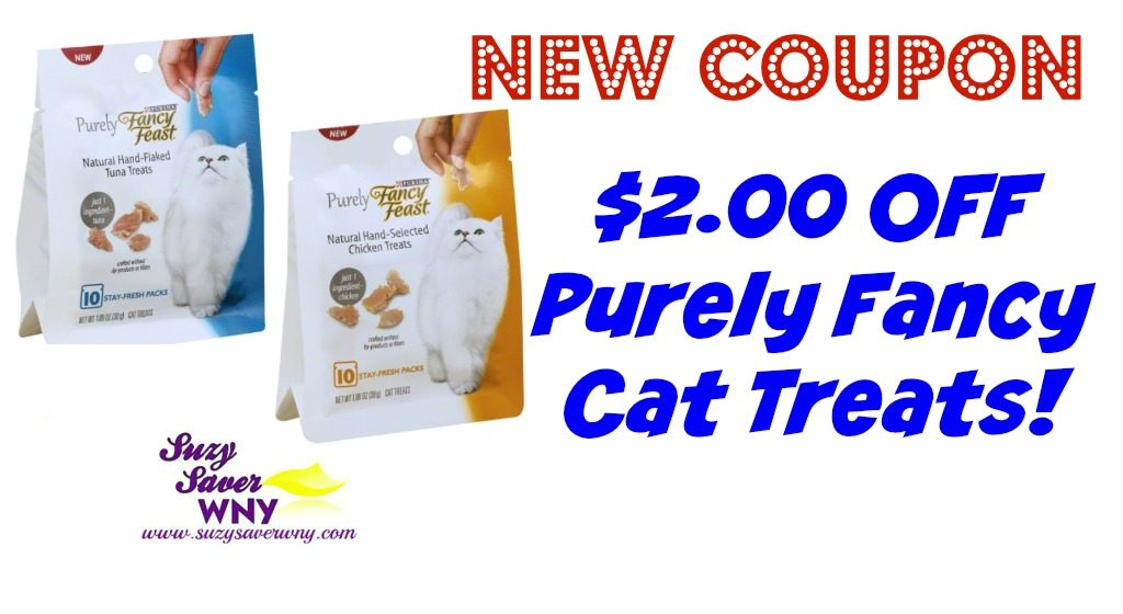 photograph about Fancy Feast Printable Coupons titled $2.00 Extravagant Feast Coupon + Specials at Tops Wegmans -