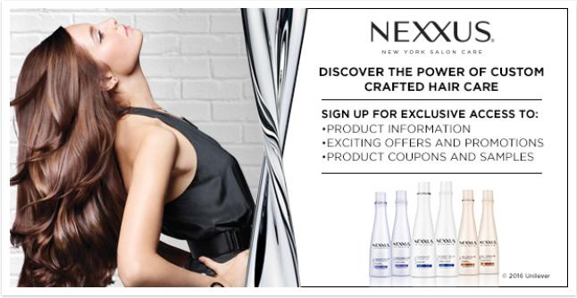 Nexxus coupons