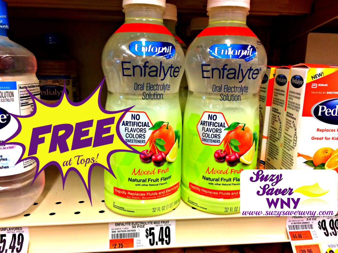 tops markets: *hot deal* free enfamil enfalyte electrolyte drinks -