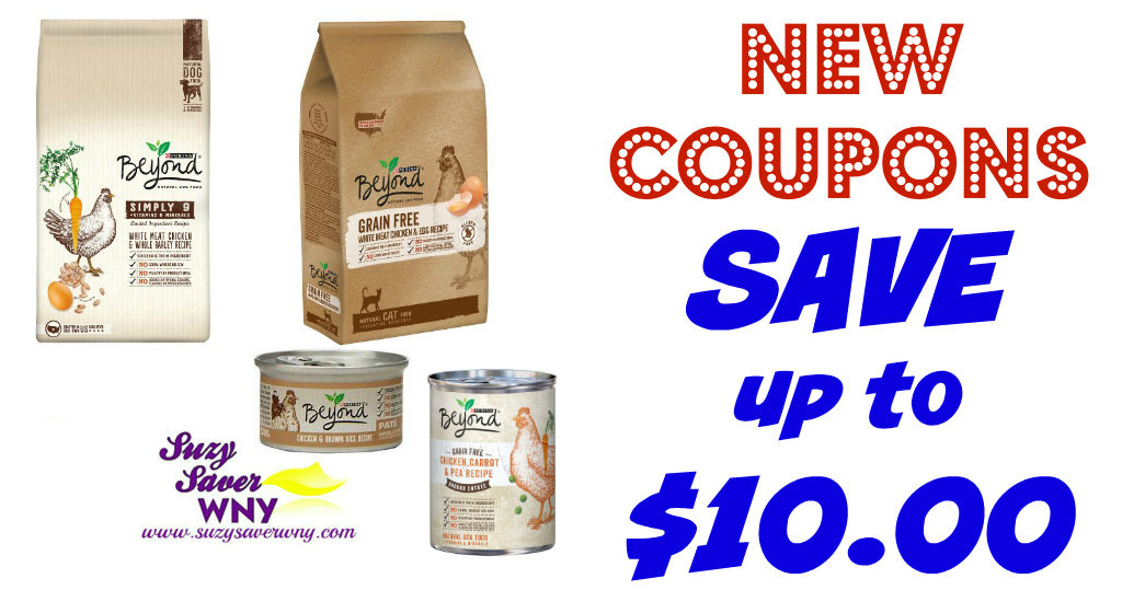 New Coupons Purina Beyond Dog Cat Food