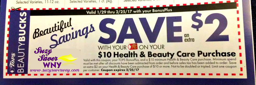 Health beauty coupons printable