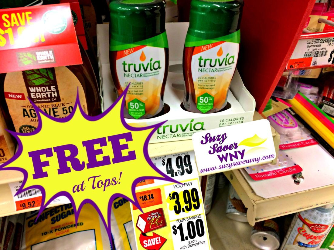 photo about Truvia Coupon Printable called Truvia Nectar Tops Marketplaces Package Absolutely free printable coupon Hard cash