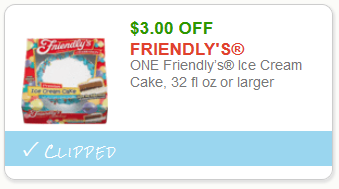 image regarding Ice Cream Coupons Printable referred to as Exceptional Discount coupons: Help you save upon Friendlys Ice Product Cakes -