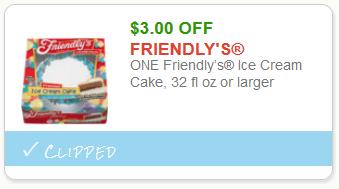 friendlys ice cream cake coupon 2019