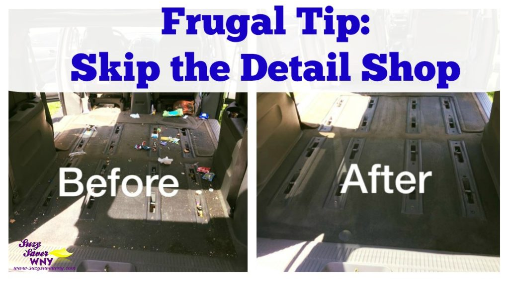 Frugal tip skip the detail shop skip the detail shop and do it yourself solutioingenieria Choice Image