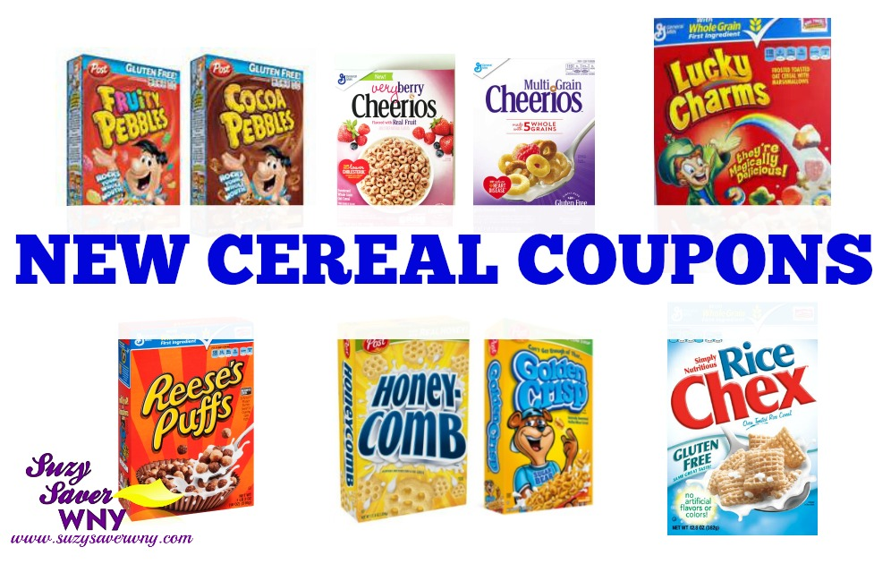 photograph about Printable Cereal Coupons identified as Fresh new Coupon codes: Help you save upon Cereal Favorites -