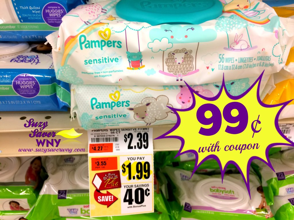 graphic about Pampers Wipes Printable Coupons titled Contemporary Pampers Wipes Coupon \u003d as minimal as $0.99 -