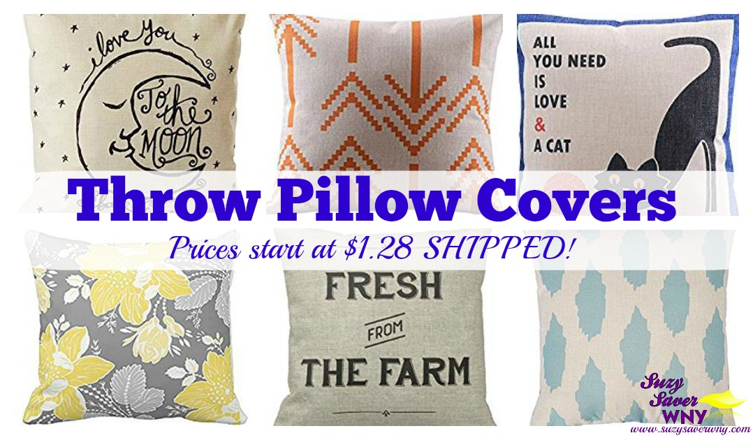 Throw Pillows Dollar General : Retro Throw Pillow Covers - Prices start at just USD1.28 SHIPPED