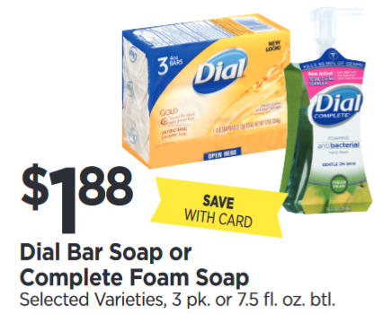 photo relating to Dial Soap Printable Coupon called Tops Marketplaces: $1.13 Dial Foaming Hand Cleaning soap + FRUGAL Idea! -